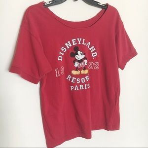 Vintage Disneyland Paris Short Sleeve T-Shirt